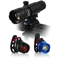 Abco Tech Rechargeable LED Bike Light - Exquisite Design - Headlight and Tail Light Set - Multipurpose High Intensity Front and Tail Waterproof Bike Light - No Tools Needed - Quick Release Mount - USB Rechargeable Batteries Included - Great for Street Mountain and Children's Bicycles - 100% Lifetime Guarantee (Black) Abco Tech http://www.amazon.com/dp/B00LV7BUNM/ref=cm_sw_r_pi_dp_zvvkub0E0KEQ3