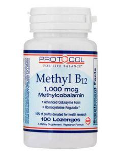 Protocol-For-Life-Balance-Methyl-B12-1000-mcg-100-Lozenges-Exp-7-17-IHI