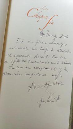 ¡Le Chapon Fin se agradece tambien en español!