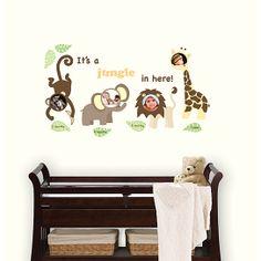 (99+) Jungle & Friends Wall Frame Kit from WallPops on OpenSky