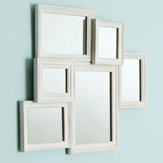 PB Teen. It's 74 dollars. A little steep for some mirrors, but maybe I could make my own DIY version of this.