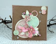 Card with circles - Scrapbook.com
