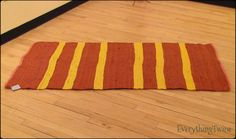 Upcycled Baling Twine Rug by everythingtwine on Etsy