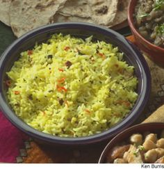 Rice Pilaf With Lime and Cashews from @WebMD