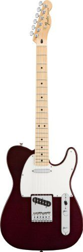 Fender Standard Telecaster, Maple Fretboard - Midnight Wine -   Body: Alder Finish: Polyester Neck: One-piece Maple, Modern C Shape Fingerboard: Maple, 9.5 (241mm) radius Frets: 21, Medium Jumbo  Electric Guitar. Made by Fender®.Standard TelecasterThe sounds that create legends! Since its introduction in the early 50s,... - http://guitarsandmusicstore.com/fender-standard-telecaster-maple-fretboard-midnight-wine/ - http://guitarsandmusicstore.com/w