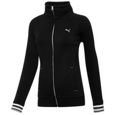 PUMA Sweat Jacket - Women's - Black