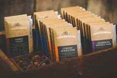 Before & After: Chocolarder — The Dieline