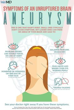 Medical infographic Symptoms of Unruptured Brain Aneurysm Infographic Description Symptoms of Unruptured Brain Aneurysm Infographic Source Medical Student, Nursing Students, Medical School, Meredith Grey, Greys Anatomy, Grey's Anatomy Wallpaper, Medan, Brain Aneurysm, Brain Injury