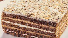Prajitura Din Foi Cu Miere! Este Foarte Delicioasa! Vanilla Cake, Tiramisu, Food And Drink, Baking, Sweet, Ethnic Recipes, Desserts, Knits, Passion