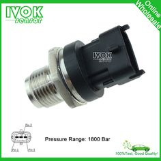 1800 Bar Diesel Fuel Pressure Sensor 0281002863 0 281 002 863 31401-4A400 314014A400 For Hyundai