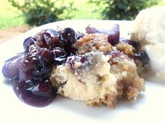 Slow Cooker Simple Fruit Cobbler  4 Ingredient Recipe