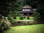 10 Beautiful Japanese House Design Ideas For You Try Creating Japanese Home Design, Japanese Style House, Traditional Japanese House, Dream Home Design, House Design, Garden Stream, Asian Architecture, Minimalist Architecture, Garden Architecture