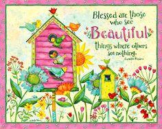 Debi Hron / Simple Inspirations / June 2017 Artsy Bilder, Positive Wallpapers, Owl Quotes, Collages, Phone Wallpaper Design, Happy Sunshine, Love Joy Peace, Life Quotes Pictures, Rock Flowers