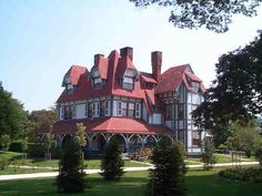 Emlen Physick Estate 2 - Cape May, New Jersey - Restored Victorian Mansion and Tea Room