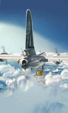 Boeing B-29 Super fortress Nagasaki