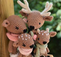 Deer family pattern