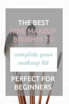 Makeup brushes guide for beginners. This video is a cheat sheets with all the brushes you need for eyeshadows, foundation and contouring and how to use them Beginner Makeup Kit, Makeup Tutorial For Beginners, Make Makeup, Makeup Tips, Makeup Hacks, Makeup Tutorials, Makeup Ideas, Best Makeup Brushes, Makeup Brush Set