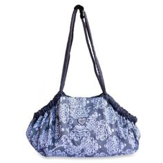 Baby Bella Maya™ 5-in-1 Diaper Tote Bag in Royal Mist - buybuyBaby.com