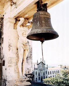 The bell tower of the Catedral de la Asunción in Nicaragua