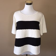 Spotted while shopping on Poshmark: Stripped Pullover! #poshmark #fashion #shopping #style #Ana #Tops