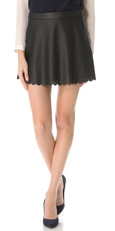 Club Monaco Candace Skirt in Black