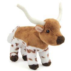 Zeb the Little Plush Longhorn by Douglas at Stuffed Safari ($7.20) ❤ liked on Polyvore featuring stuffed animal