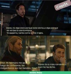 Steve Rogers, Tony Stark, Thor, Stony Superfamily, Romance, Marvel, Fujoshi, Wattpad, Memes