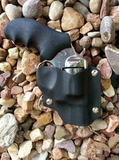Black Kydex Clamshell Holster