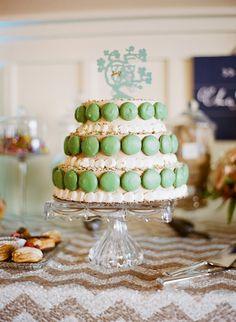 Featured Photographer: Josh Gruetzmacher; wedding cake idea