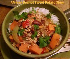 My favorite! African Peanut Sweet Potato Stew,