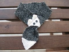 Scarfs  crochet and knitting   FOX