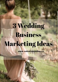 3 Wedding Business Marketing Ideas to boost your sales. #weddingplanner #weddingblog #weddinghour You Must Follow up with Potential Wedding clients Answer their burning questions Invest in your Business  http://www.culturewedding.ca/3-wedding-marketing-business-ideas/