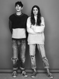 Converse was grunge in the 90s. Oversize sweats and boyfriend jeans.