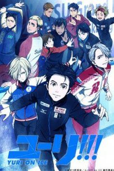 Yato on Ice! They all look so happy! The one with the Yato face is my favorite Anime Meme, Manga Anime, Anime In, Anime Kawaii, Anime Shows, Fall Anime, Anime Expo, Katsuki Yuri, Yuuri Katsuki