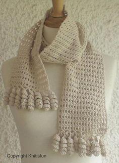 FREE Malou scarf pattern