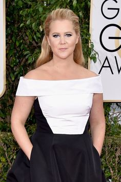 Pin for Later: If You Think Amy Schumer's Globes Gown Looks Familiar, There's a Good Reason Why