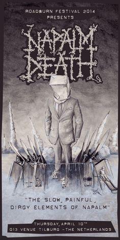 Napalm Death at Roadburn 2014