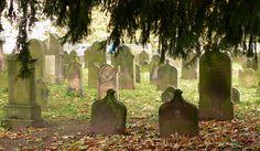 Grabsteine auf dem jüdischen Friedhof