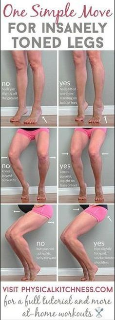 One Simple Move for Insanely Toned Legs – Toned