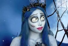 4. Emily (The Corpse Bride) | 10 DIY Movie-Inspired Makeup Tutorials for Halloween