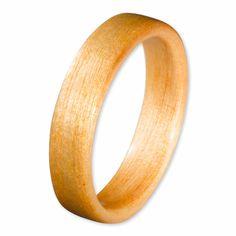 Willow wood ring. Custom Designs.