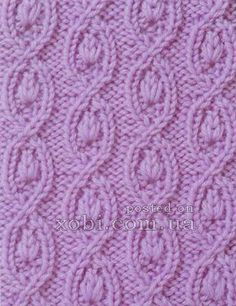 pattern with braids 0055