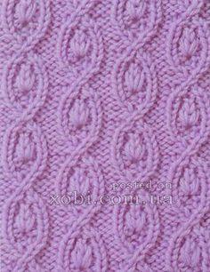 pattern with braids 0055 burgulu ilmek uzatmalı örnek