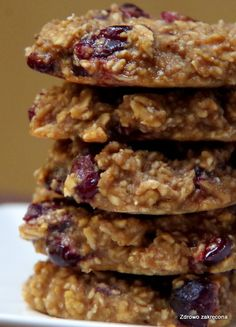 Cookie Recipes, Diet Recipes, Dessert Recipes, Healthy Recipes, Desserts, Greek Chickpea Salad, Healthy Deserts, Good Food, Food And Drink