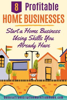 Do you want to make money from home and start your own home business but have no idea which business to start? Check out these 10 Profitable Home Businesses You Can Start Using Skills You Already Have. #homebusiness #homebasedbusiness #homebusinessideas #businessideas #startanonlinebusiness #smallbusiness #makemoneyfromhome #workfromhome #earnmoneyfromhome #onlinejobsfromhome #sidehustleideas #makemoneyonline #workfromhomejobs #workathomejobs Typing Jobs From Home, Online Jobs From Home, Online Work, Earn Money From Home, How To Make Money, At Home Careers, Legitimate Work From Home, Work From Home Opportunities, Apps