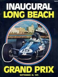 long beach gp 1975 program held for  F5000 Cars the first Year.