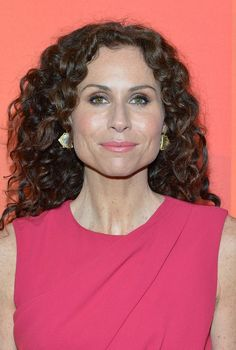 Minnie Driver Long Curly Hairstyles for Women Over 40
