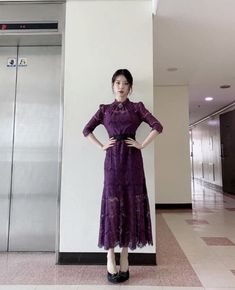 Korean Fashion Dress, Korea Fashion, Fashion Dresses, Luna Fashion, 80s Fashion, Cute Dresses, Beautiful Dresses, Cute Japanese Girl, Aesthetic Clothes