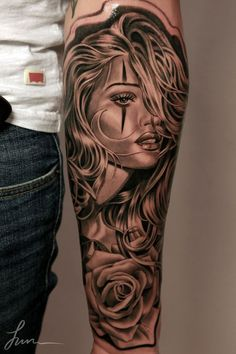 3D Forearm Tattoo - 55+ Awesome Forearm Tattoos