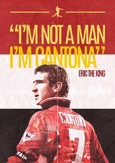 Personal project based on one of my favorite soccer players since i was a kid, Eric Cantona. Manchester United Wallpaper, Manchester United Legends, Manchester United Players, Football Love, Best Football Players, Soccer Players, United Way, Man United, Eric Cantona
